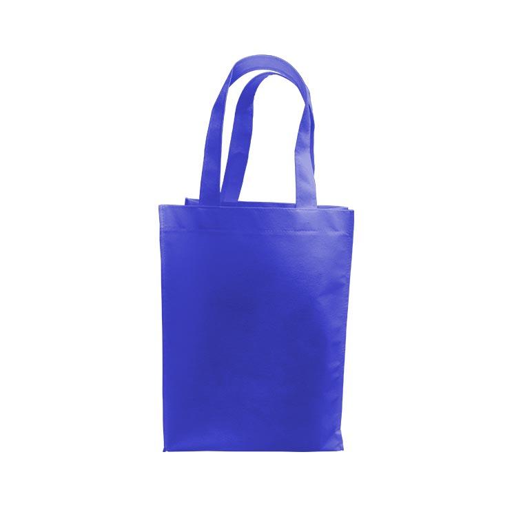 7f959ac0d Bolsa Ecológica Azul c/fuelle - Carpetas y Agendas Plus